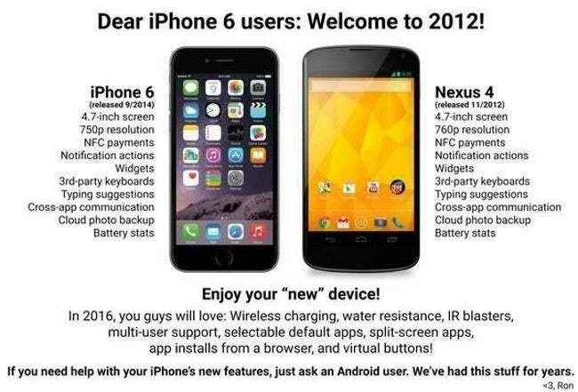Android vs iPhone Memes 6