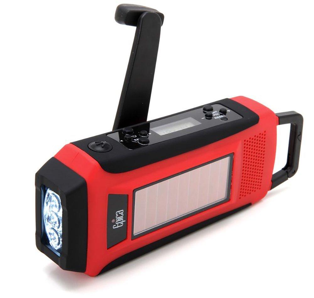 Epica Digital Emergency Solar Radio