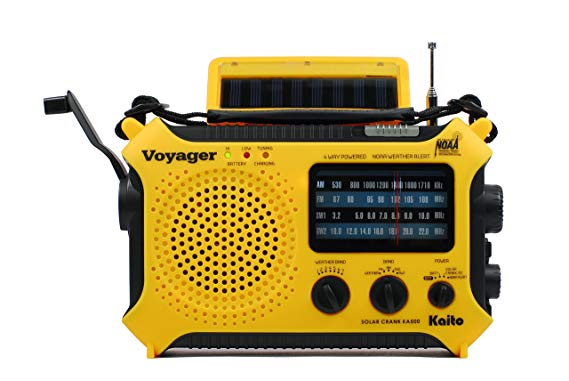 Kaito KA500 5-Way Powered Emergency Radio