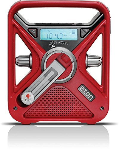 The American Red Cross FRX3+ Hand Crank Radio