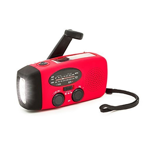 YOBY hand-crank emergency radio