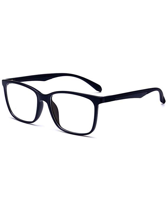 ANRRI Classic Black Unisex Blue Light Blocking Glasses