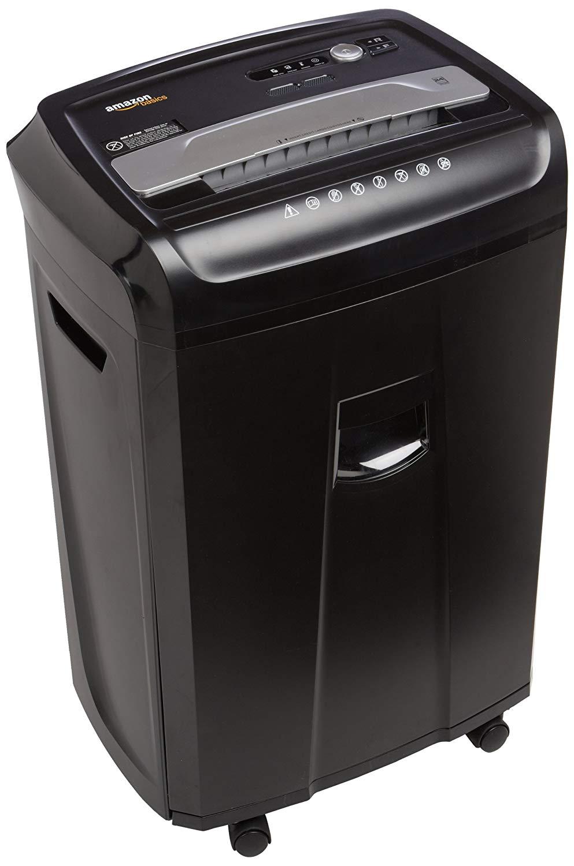 AmazonBasics 24-High Capacity House Office Shredder