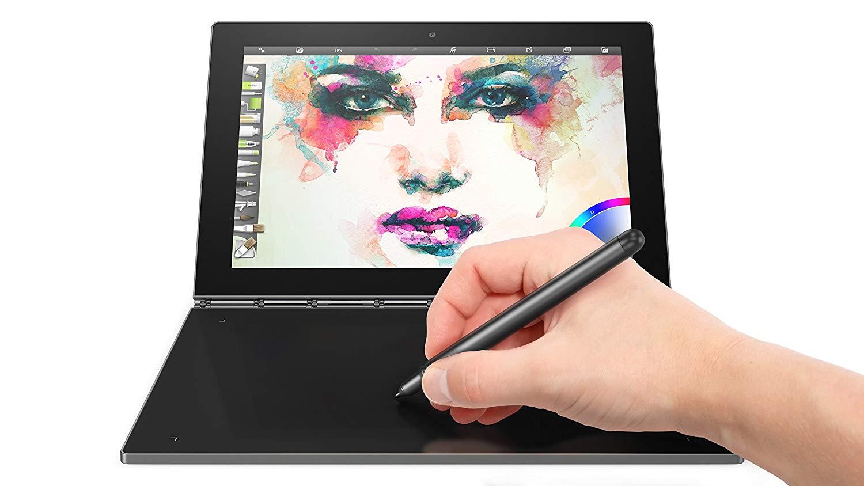 Lenovo Yoga Book best tablets for taking handwritten notes