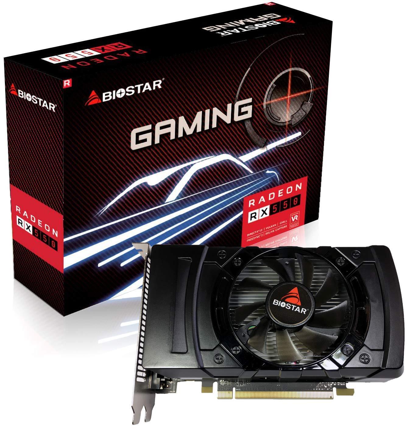 Biostar Radeon RX550