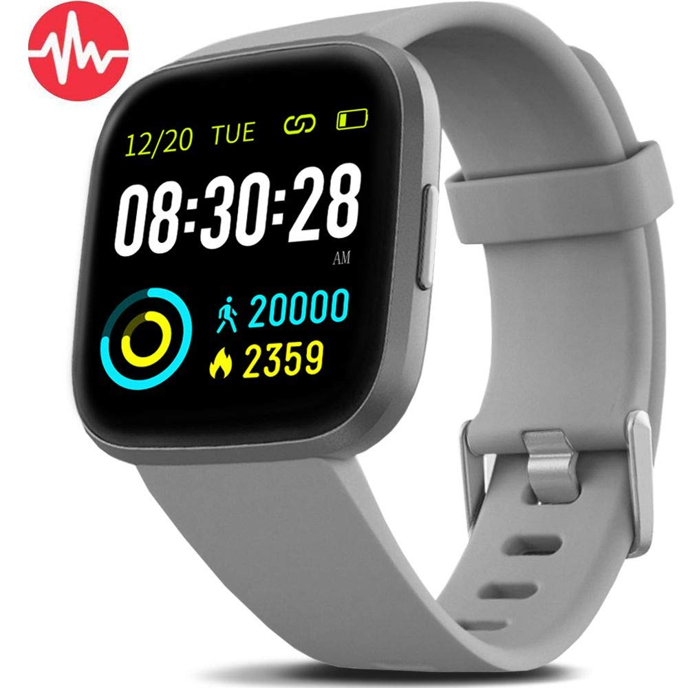 FITVII Health & Fitness Smart Watch