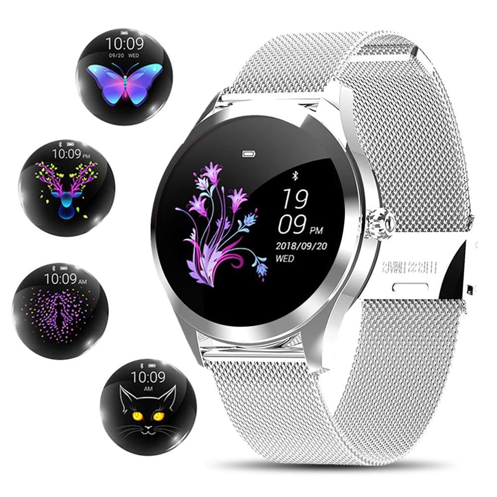 Stainless Waterproof Smartwatch and Fitness Tracker