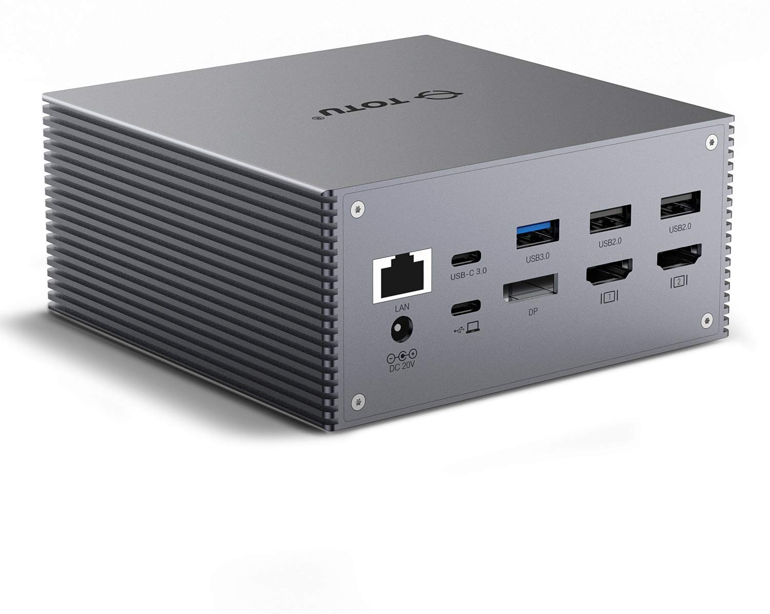 TOTU USB-C 4K Triple Display Docking Station