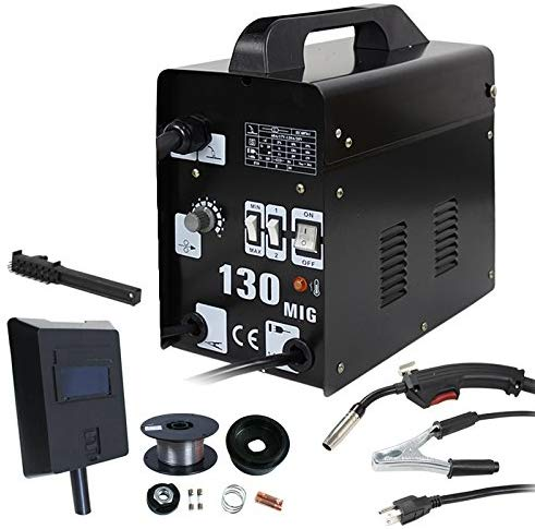 10 ZENY MIG130 Gas-Less Flux Core Wire Automatic Feed Welder