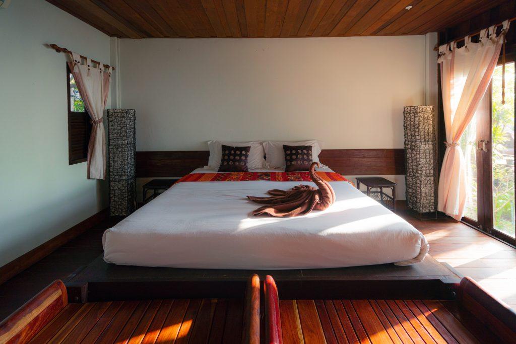 Platform bed start woodwork