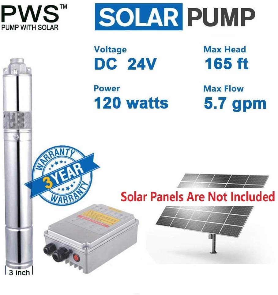 PWS Stainless 316 Deep Well Submersible Pump