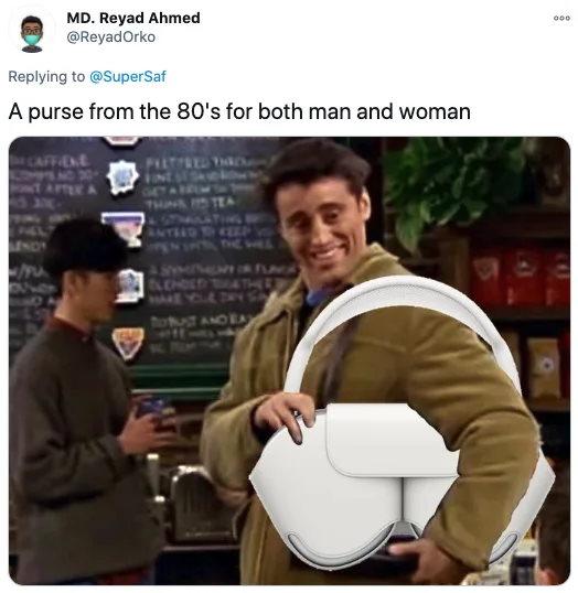 AirPods Max meme