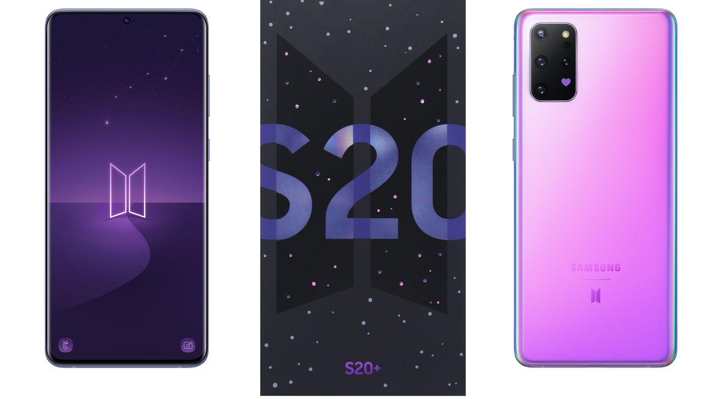 Top 5G Smartphones Samsung Galaxy S20/ S20 Plus: