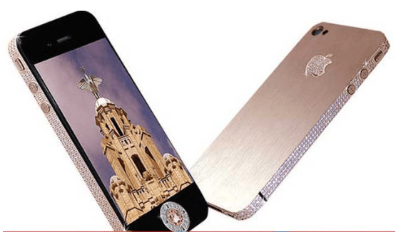 Stuart Hughes iPhone 4 Diamond Rose Edition expensive mobile phones