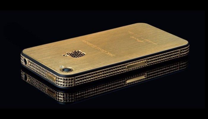 Stuart Hughes iPhone 4s Elite Gold  most expensive mobile phones