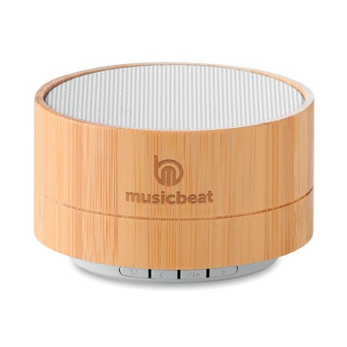 Bamboo Solar Speaker