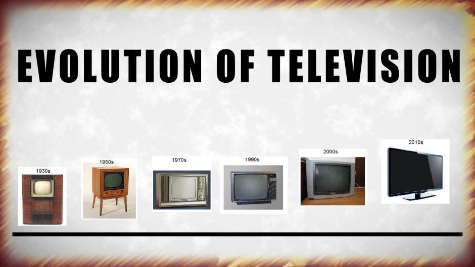 Evolution of TV