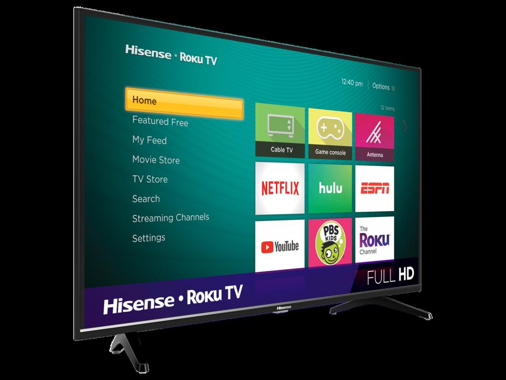 Hisense Class H4 Series Roku Smart TV