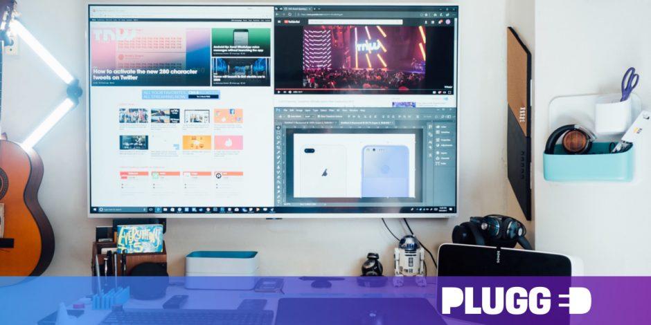 Convert TV to monitor and vice versa