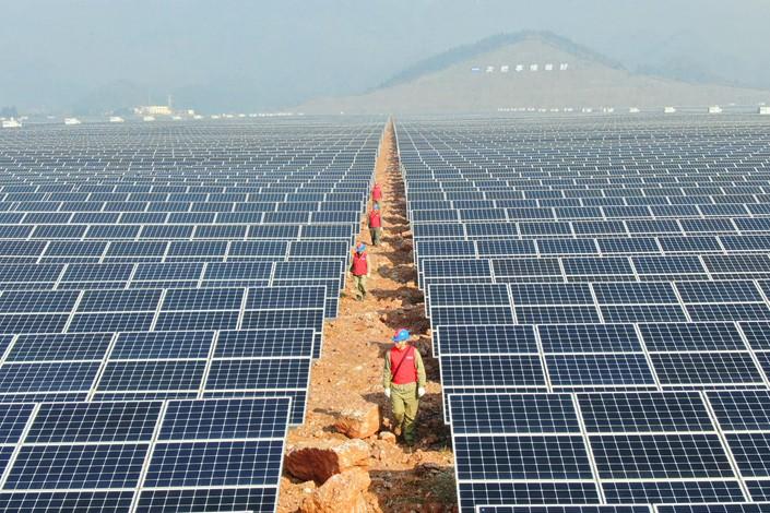 China Solar Power Plant