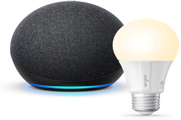 Echo Dot 4th gen With Sengled Bulb