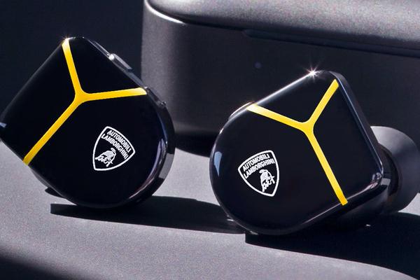 Lamborghini Master & Black MW07 Plus earphone