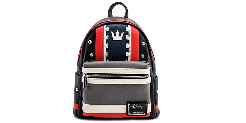 Loungefly x Disney Kingdom Hearts 3 ~ Sora ~ Cosplay Mini Backpack