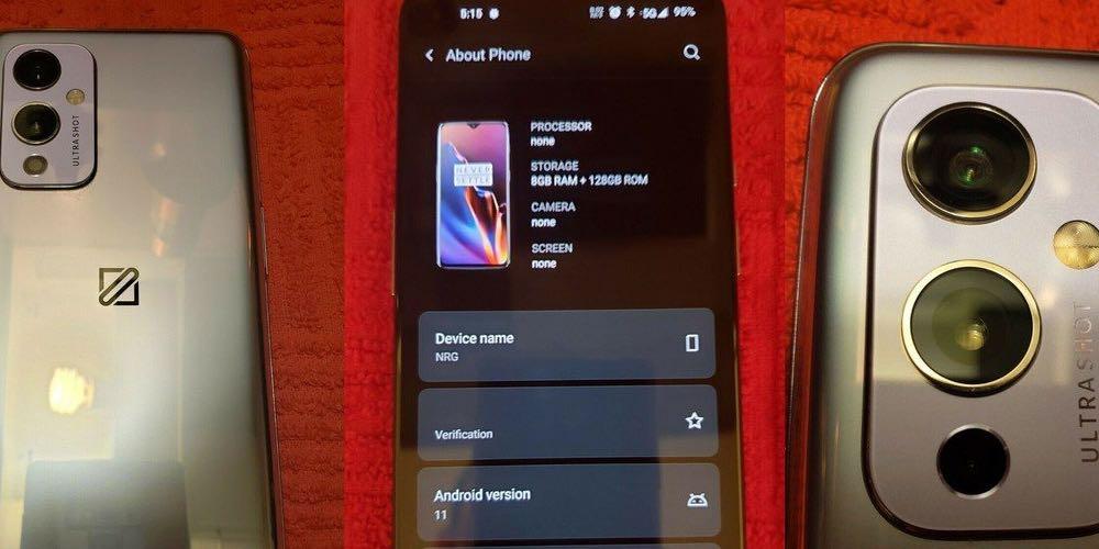OnePlus 9 prototype eBay