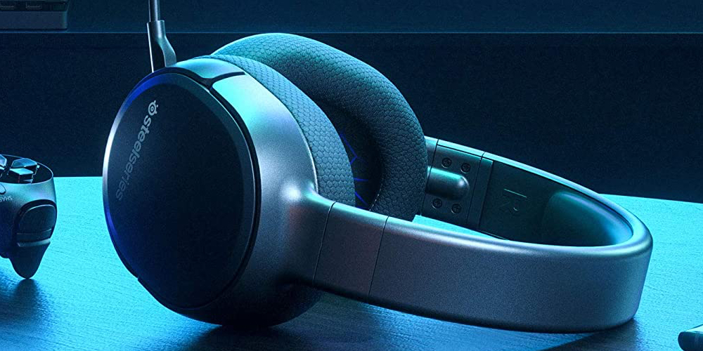 SteelSeries Arctis 1 Wireless Gaming Headset for Playstation – USB-C Wireless