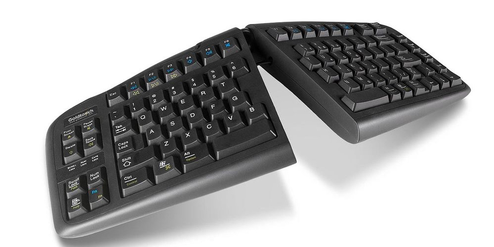 Angle Split Ergonomic Keyboards