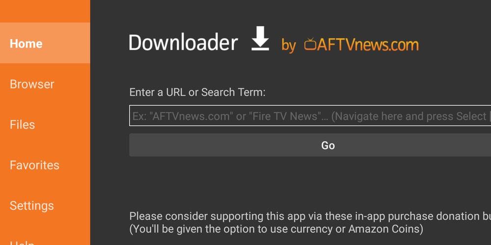 Downloader Fire TV