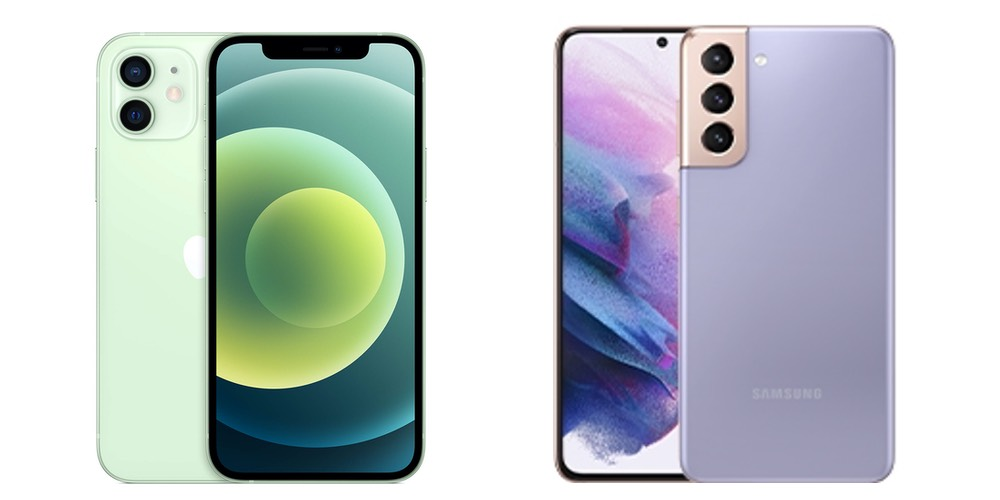 Galaxy S21 vs iPhone 12