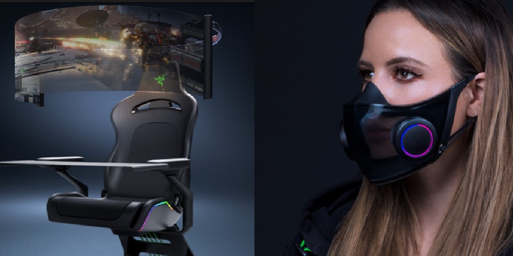 Razer Gaming Chair Concept & Face Mask