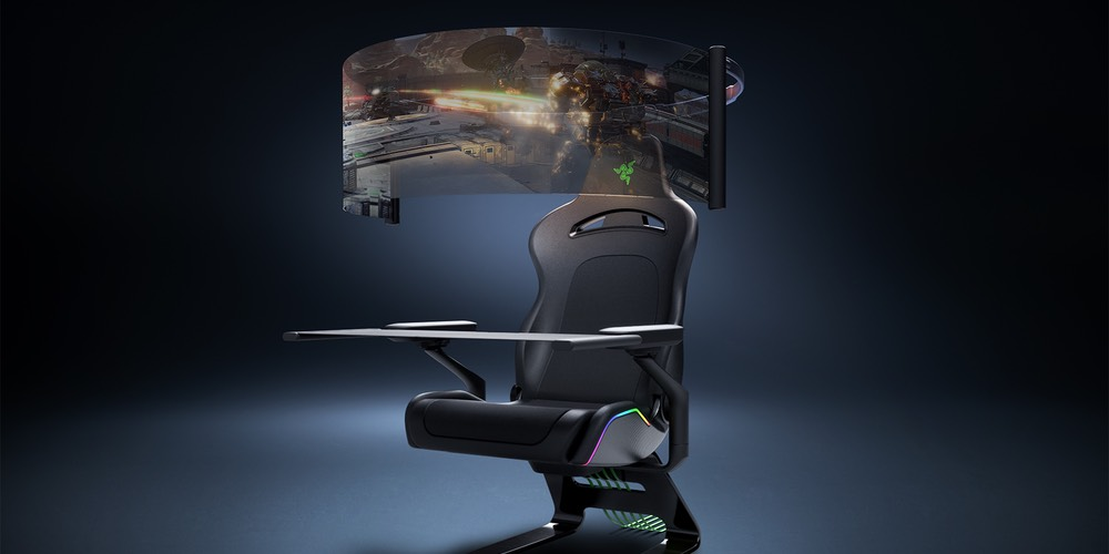Razer Gaming Chair Concept - Project Brooklyn