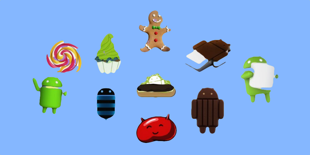 All Android Desserts