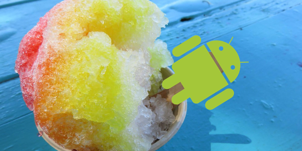 Android 12 Snow Cone