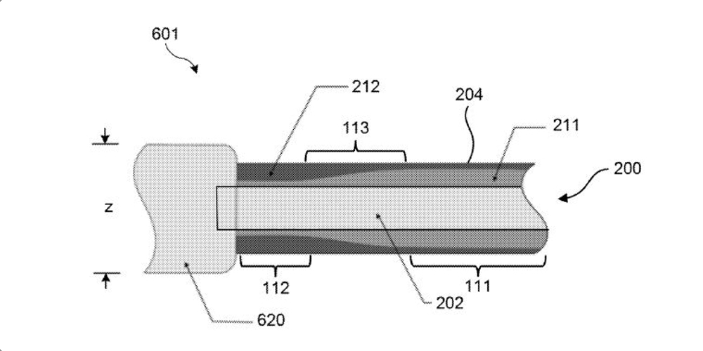 Apple Patent Illustration Charging Cable