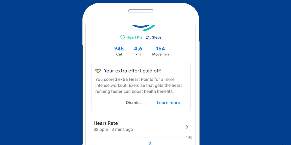 Heart Rate Google Fit