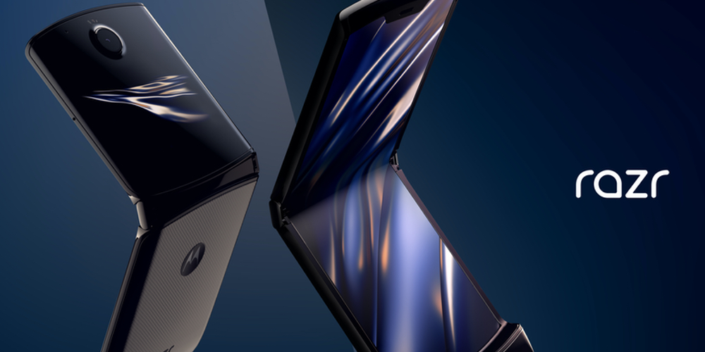Moto Razr clamshell phone