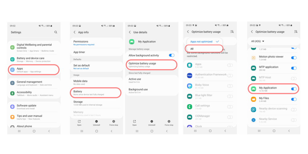 OneUI 3.0 Stop Killing Background apps