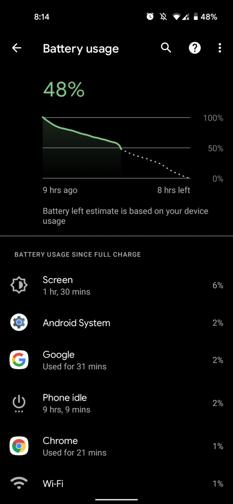 Pixel 5 battery issue