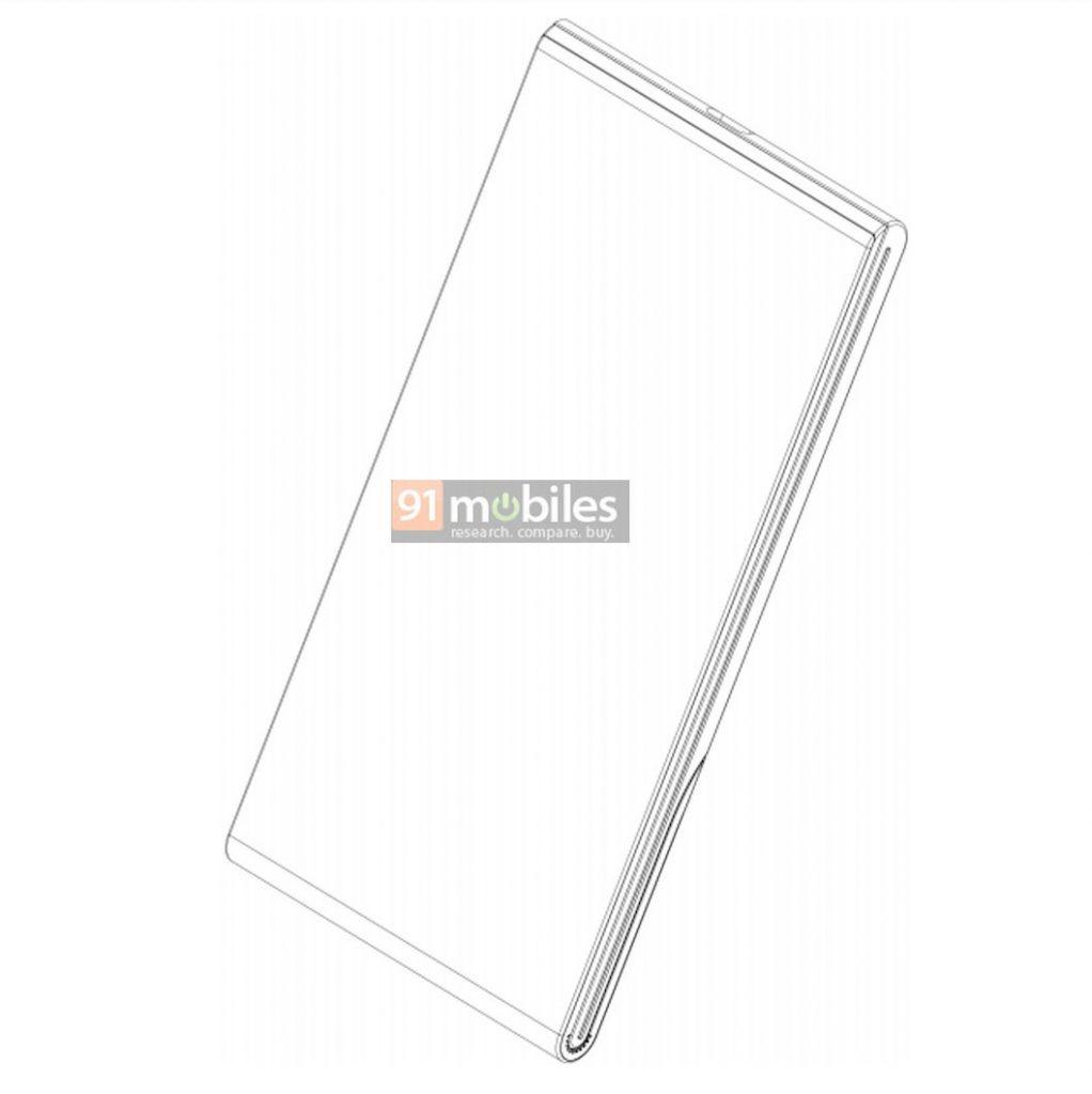 Vivo foldable phone patent