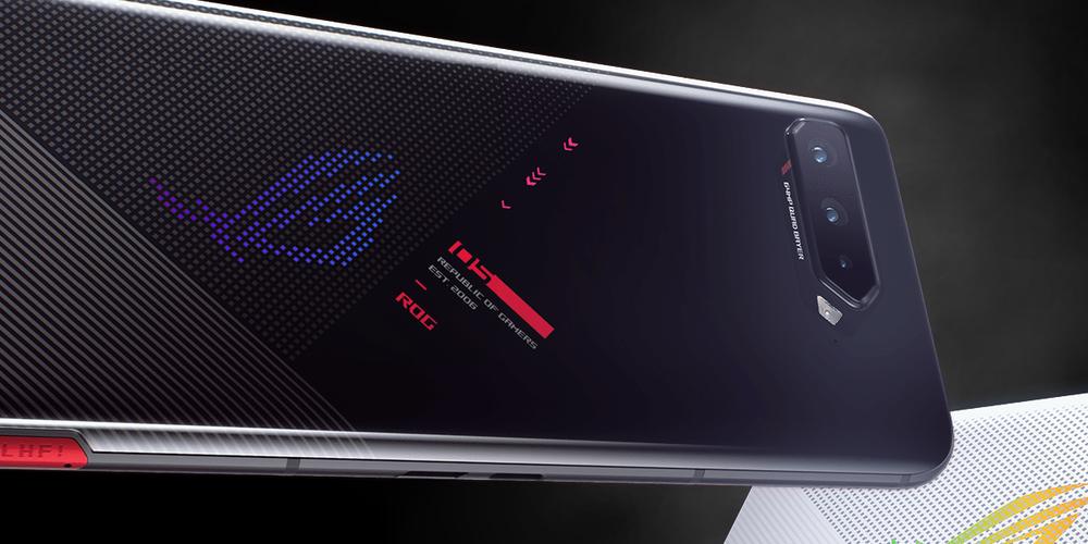 Asus ROG Phone 5 rear display