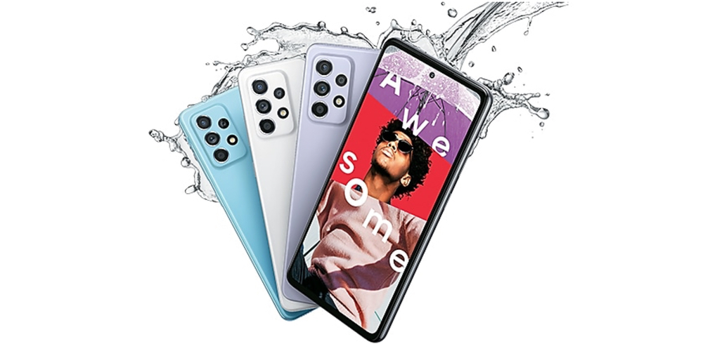 Galaxy A52 water resistance