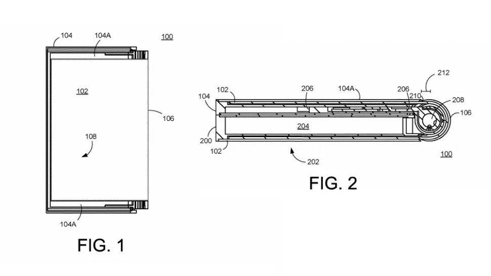 Pixel Fold Patent Design