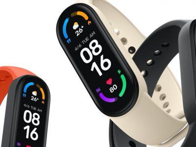 Xiaomi Mi Band 6 fitness tracker