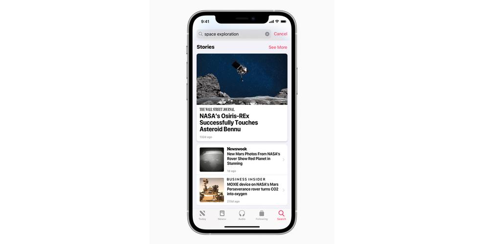 Apple News iOS 14.5