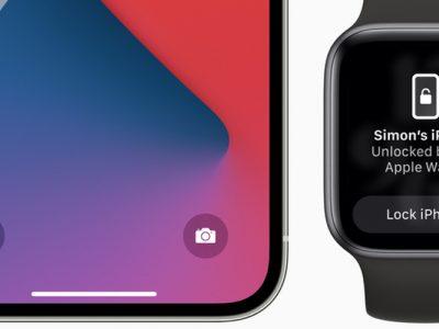 Apple iOS 14.5 Apple Watch Unlock