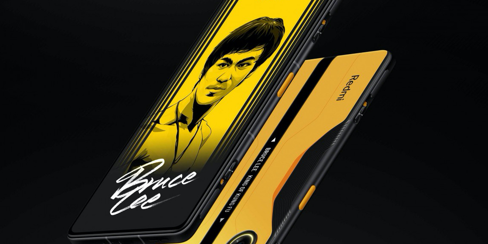 Bruce Lee special edition redmi k40 gaming edition