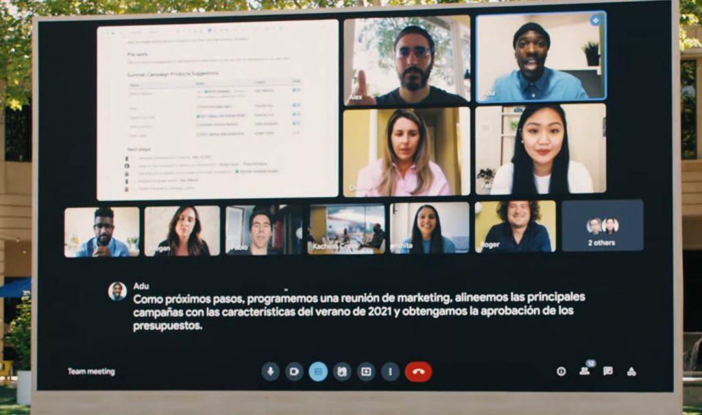 Google I/O 2021 Smart Canvas
